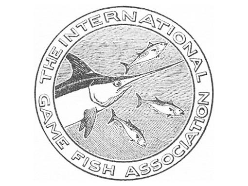 IGFA の旧ロゴは、メカジキをモチーフにしたもの。シンプルですが味がありますね