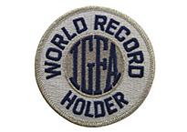 ワールドレコードホルダー・ワッペン