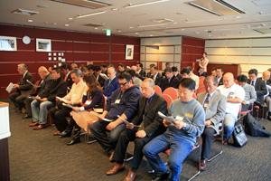 2012年度のJGFA事業計画に真剣に耳を傾ける会員